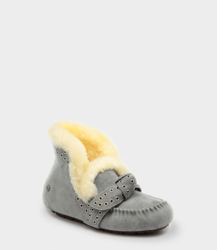 UGG SLIPPERS POLER GREY фото 2