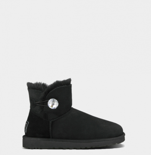 UGG BAILEY BLING MINI BLACK