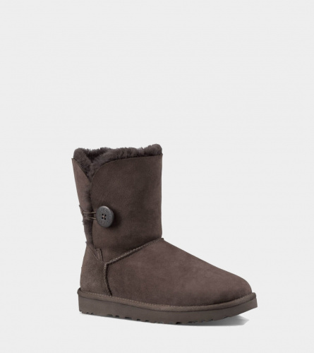 UGG BAILEY BUTTON II WATERPROOF CHOCOLATE фото 2
