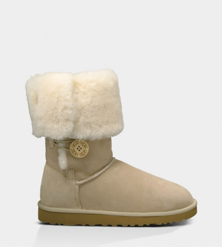 UGG BAILEY BUTTON TRIPLET TALL II WATERPROOF SAND фото 3