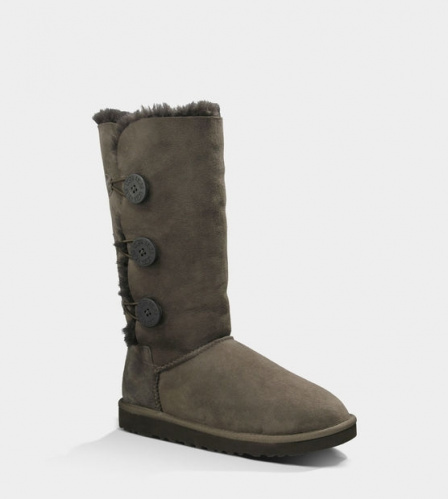 UGG BAILEY BUTTON TRIPLET TALL II WATERPROOF CHOCOLATE фото 2