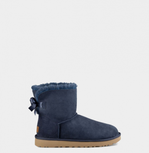 UGG BAILEY BOW MINI II WATERPROOF NAVY