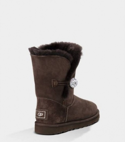 UGG BAILEY BLING CHOCOLATE фото 2