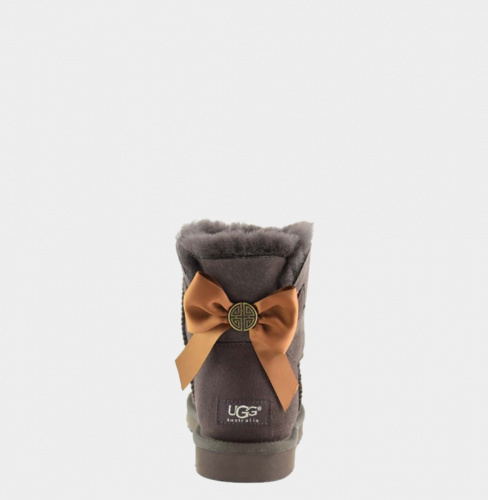 UGG BAILEY BOW MEDALLION MINI CHOCOLATE фото 2