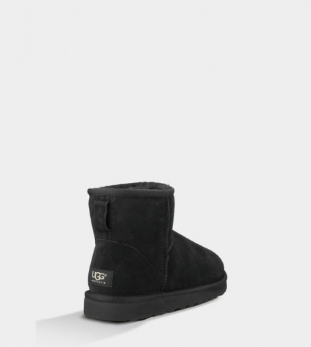 UGG CLASSIC MINI BLACK MEN фото 3