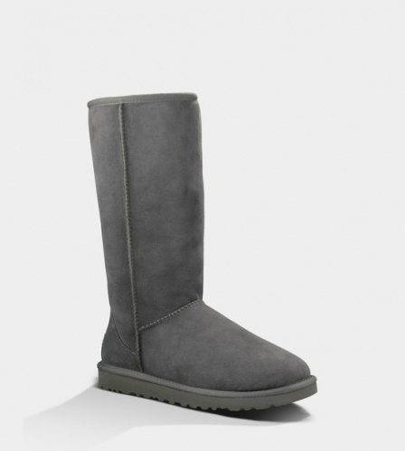 UGG CLASSIC TALL II WATERPROOF GREY фото 2