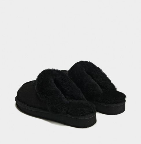 UGG COQUETTE SLIPPER BLACK фото 2