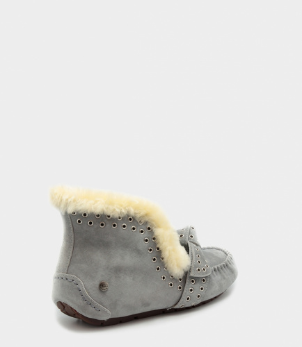 UGG SLIPPERS POLER GREY фото 4