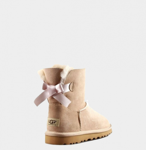 UGG BAILEY BOW MINI II WATERPROOF SAND фото 2