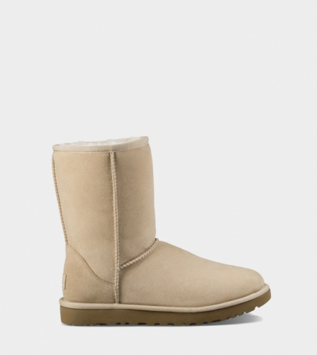 UGG CLASSIC SHORT II WATERPROOF KIDS SAND