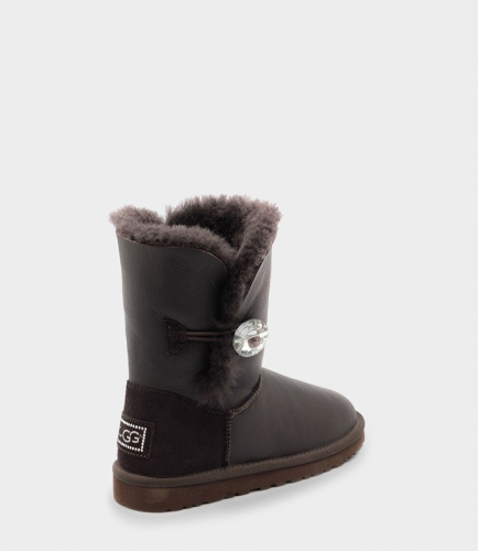 UGG BAILEY BLING METALLIC СHOCOLATE фото 3