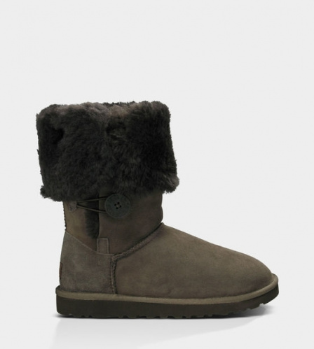 UGG BAILEY BUTTON TRIPLET TALL II WATERPROOF CHOCOLATE фото 3