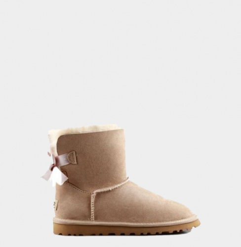 UGG BAILEY BOW MINI II WATERPROOF SAND