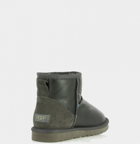UGG METALLIC MINI GREY фото 3