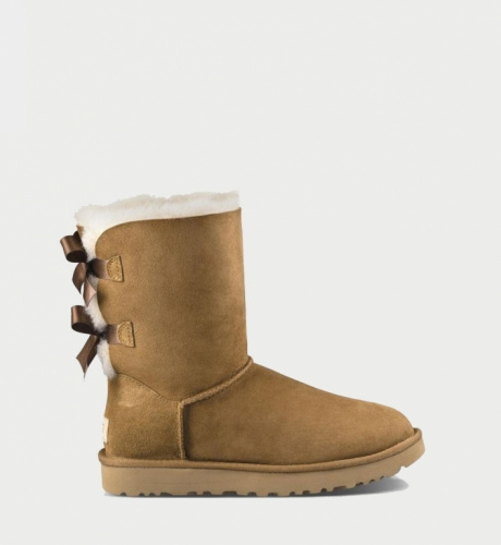 UGG BAILEY BOW II WATERPROOF KIDS CHESTNUT