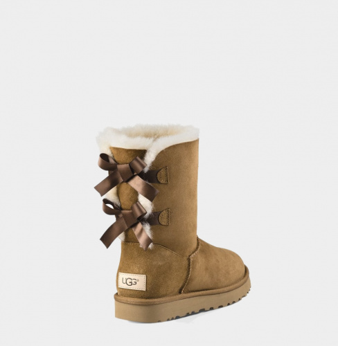 UGG BAILEY BOW II WATERPROOF CHESTNUT фото 3
